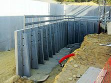 Muros de contrafuertes - Prefabricados Aljema, S.L.